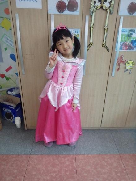 Alina as Aurora from Sleeping Beauty