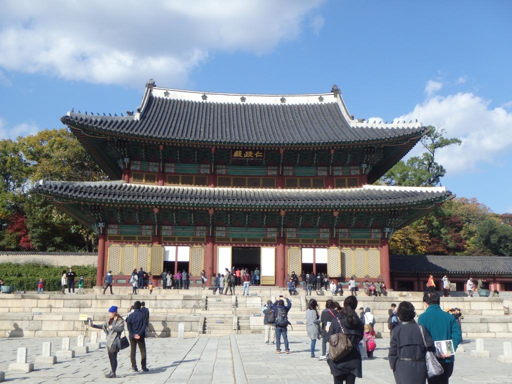 Main throne hall - Injeongjeon