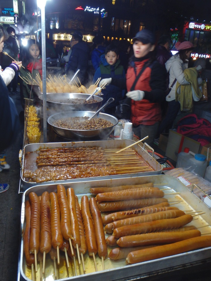 Some of the tasty street food available