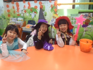 Lily, Esther, and Ellin from my afternoon kinder class