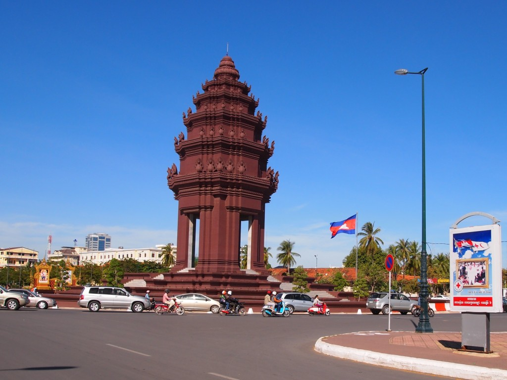 Independence Monument - it was built in 1958 to commemorate their liberation from France