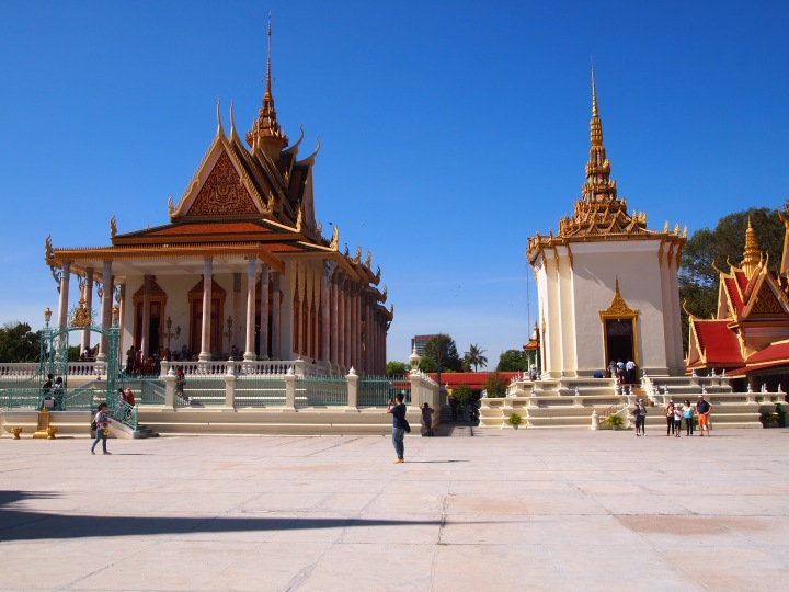 The Silver Pagoda on the right