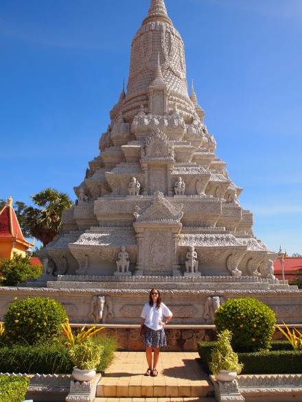 Memorial Stupa to King Norodom