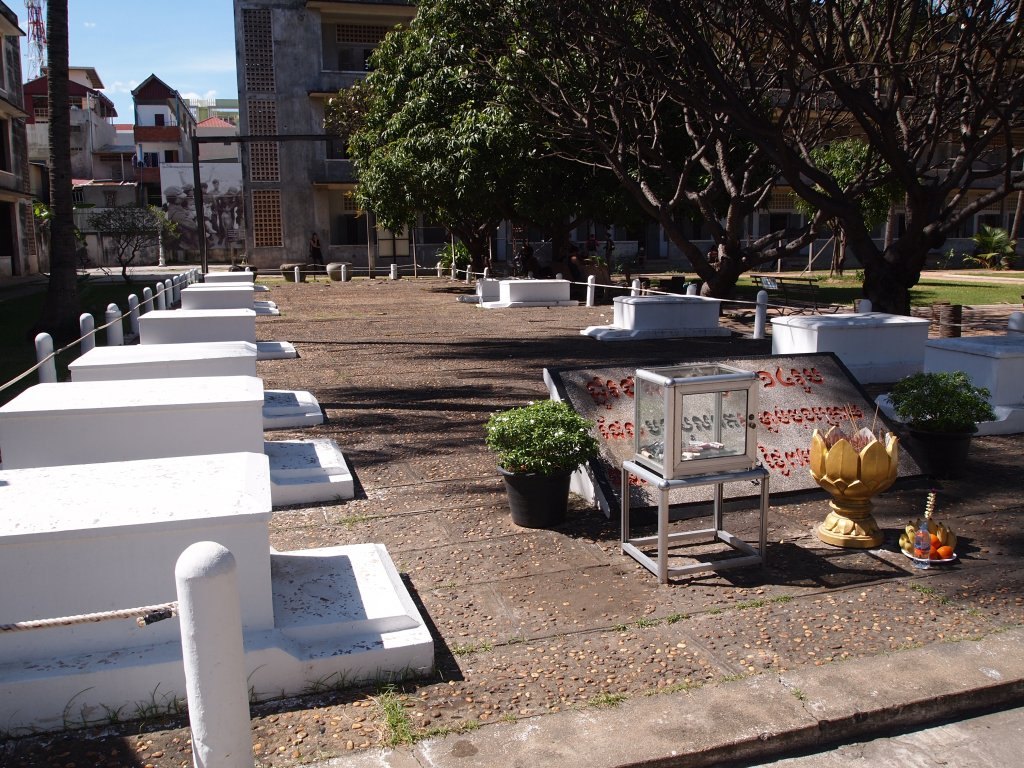 These are the graves of the final 14 victims