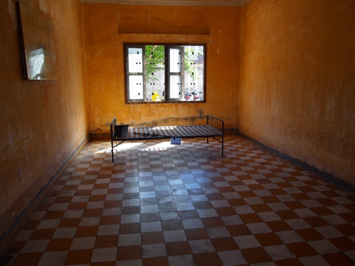 This room was used for torture and is just a eerie today
