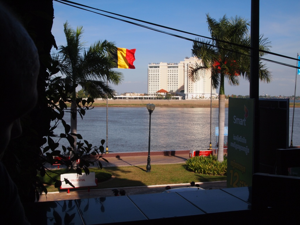 View of the Mekong