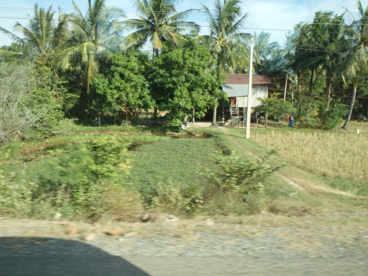 Some sites along the road to Phnom Penh