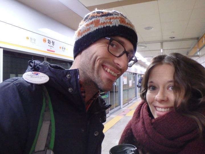 Waiting for the subway at 6:25am