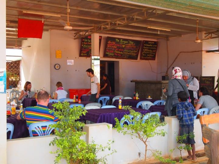 Lunch stop at Banyan Tree