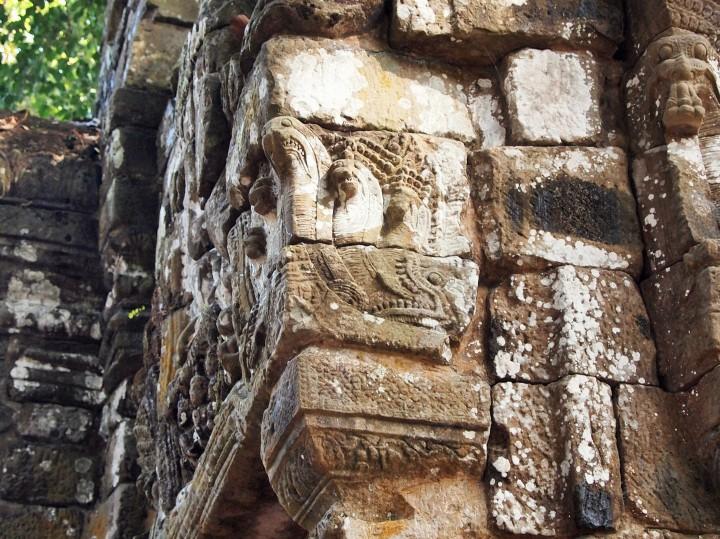 A naga - serpent deity