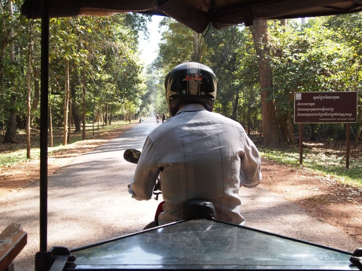 on our way to Ta Prohm