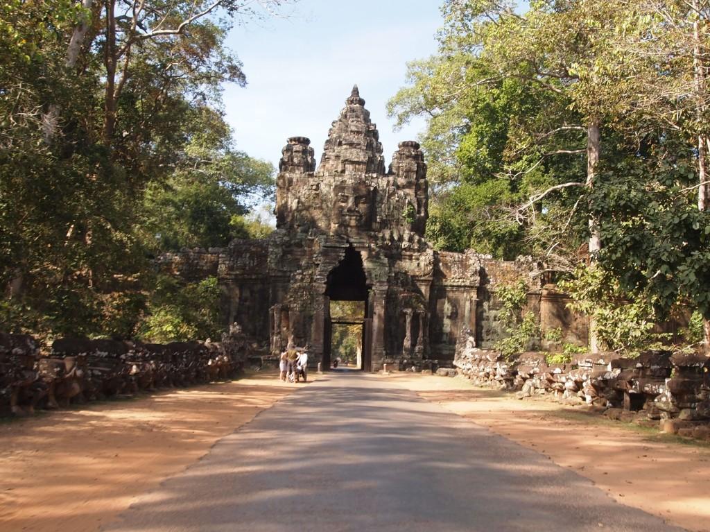 South gate to Angkor Thom