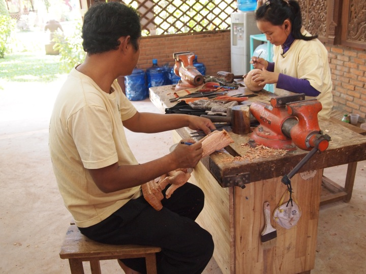 Part of the workshop in Siem Reap