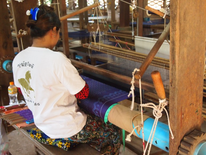 weaving the intricate patterns
