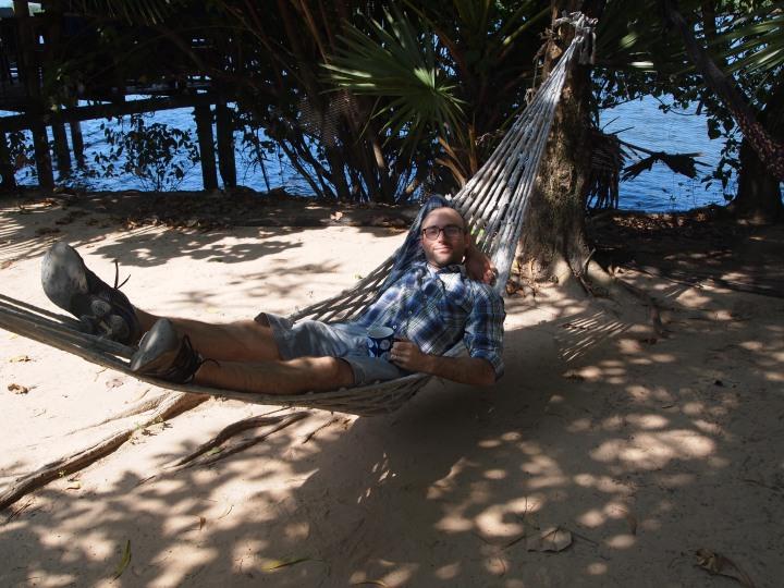 hammocks by the river