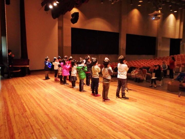Pinocchio rehearsal!