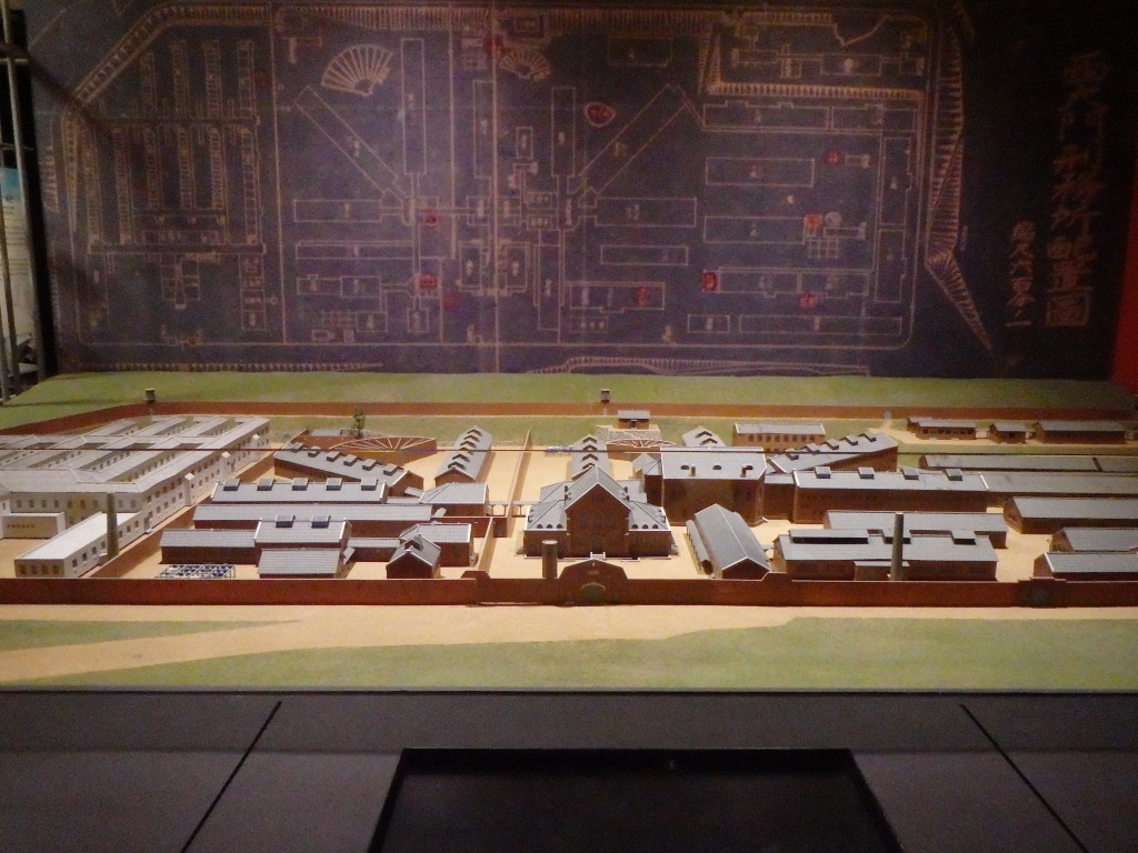 A model of the prison at its height