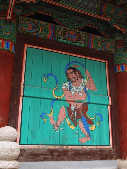 Mural on Geumgang-mun