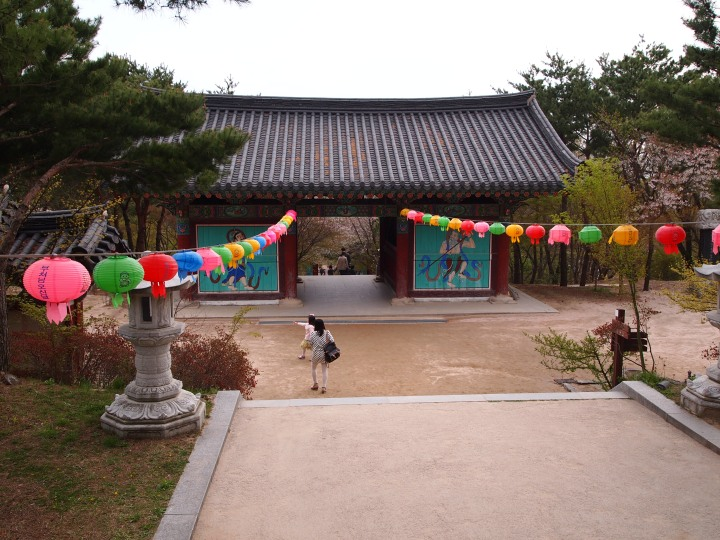 Sacheonwang-mun as I walked away