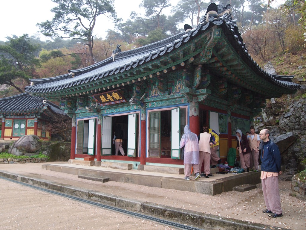 Jeonghyesa - it is a very important Seon (Zen) hall in Korean Buddhism