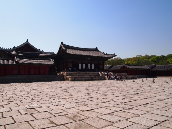 Myeongjeongjeon, the main throne hall which dates to 1616, is the oldest throne hall in Seoul