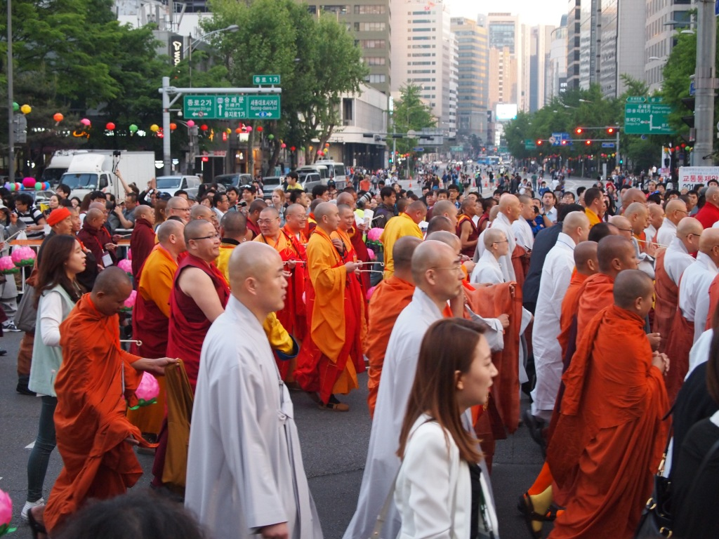 The most monks I have ever seen in one place