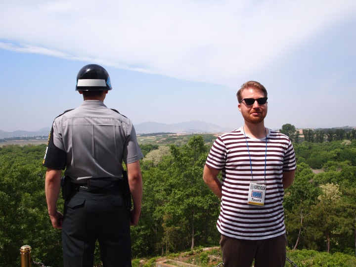 Walter with an ROK soldier