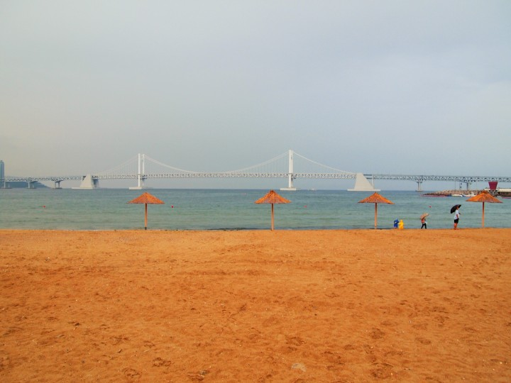 Gwangalli Beach - Busan's city beach