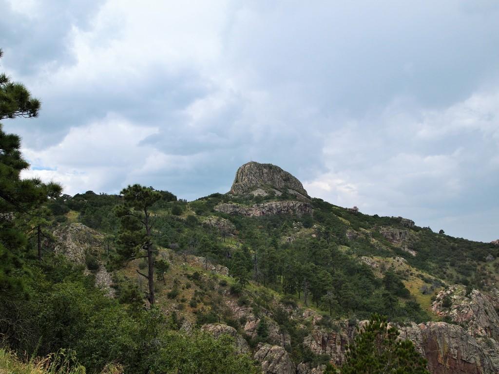 Our destination: Baldy Peak