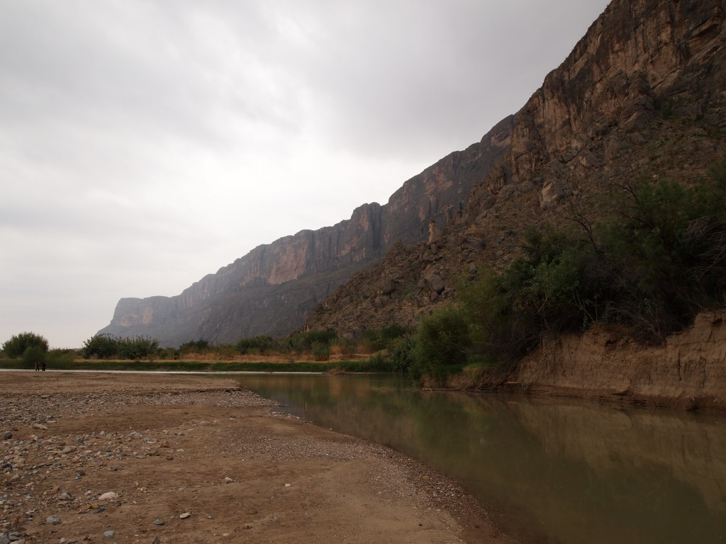 Some water in Terlingua Creek