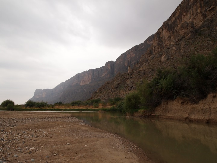 Some water in Terlingua Creek