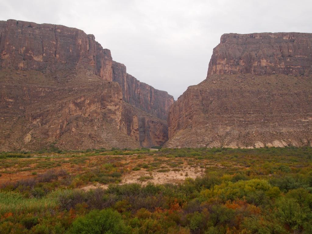 Santa Elena Canyon from afar