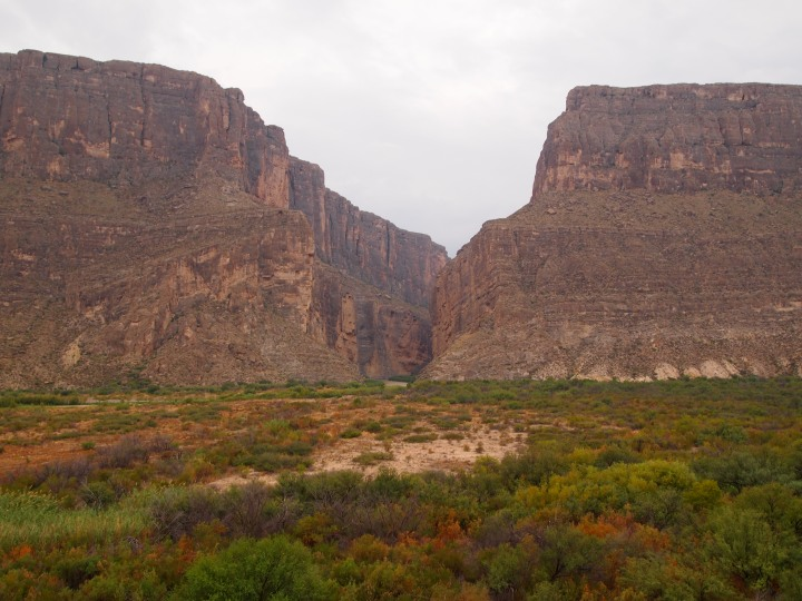 Santa Elena Canyon from afar