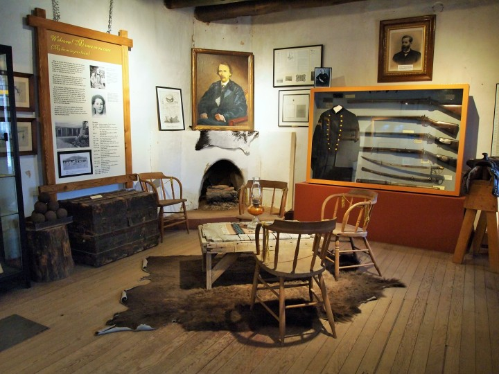 Carson used this room as his office while he was an Indian Agent.