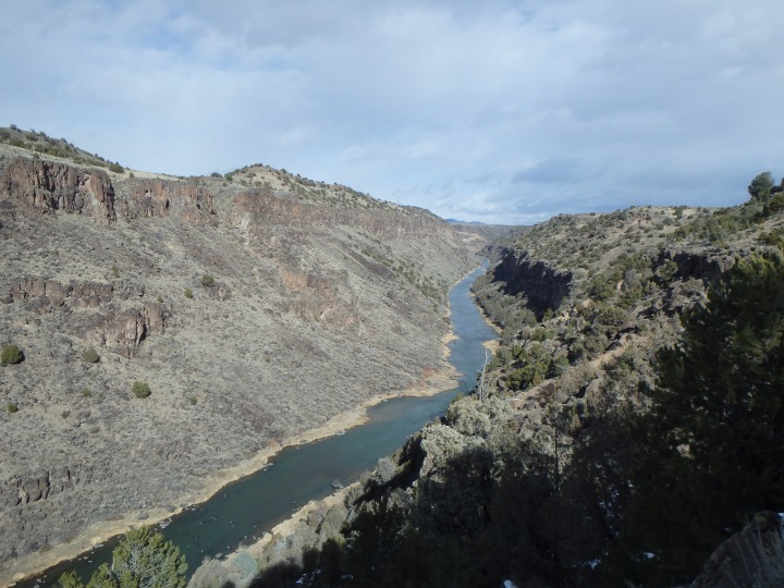 Beautiful view of the gorge and river