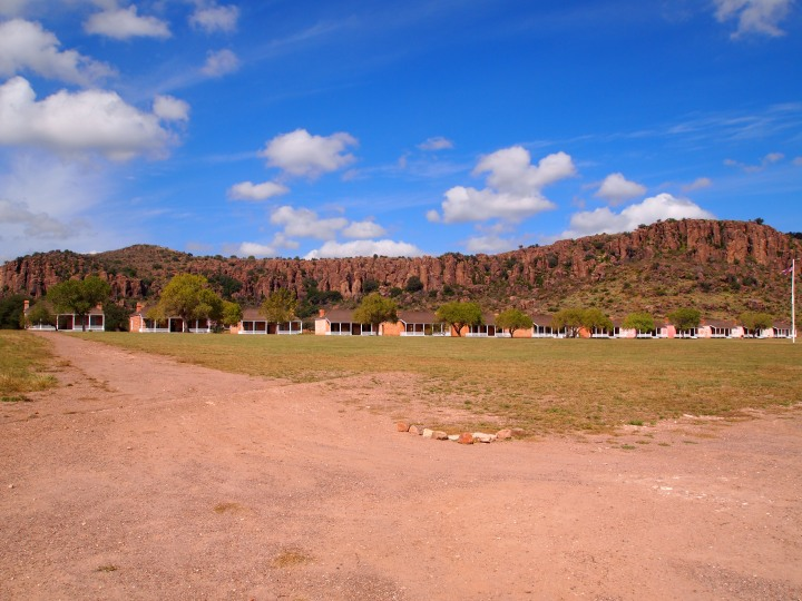 Fort Davis from the entrance