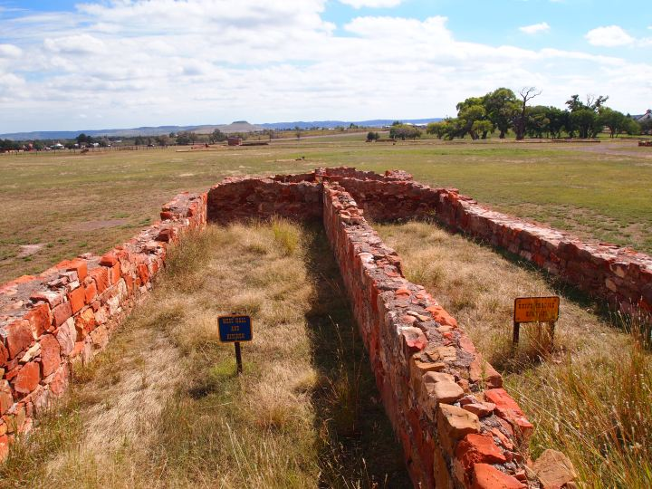 Ruins of the barracks