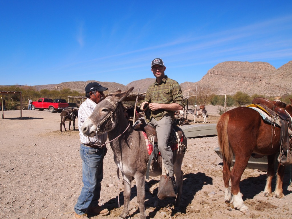 Getting our burros