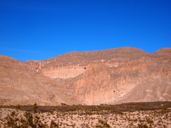 Boquillas Canyon from a distance