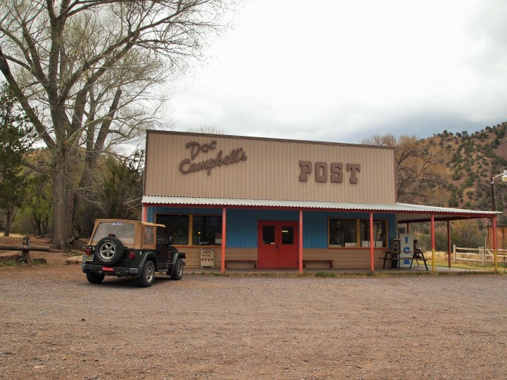 We stopped at this great general store on our way to Lake Roberts and bought some homemade chocolate ice cream