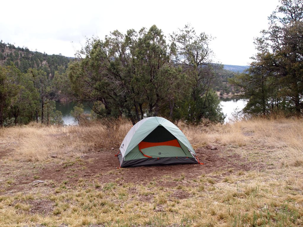 Our camping spot for the evening