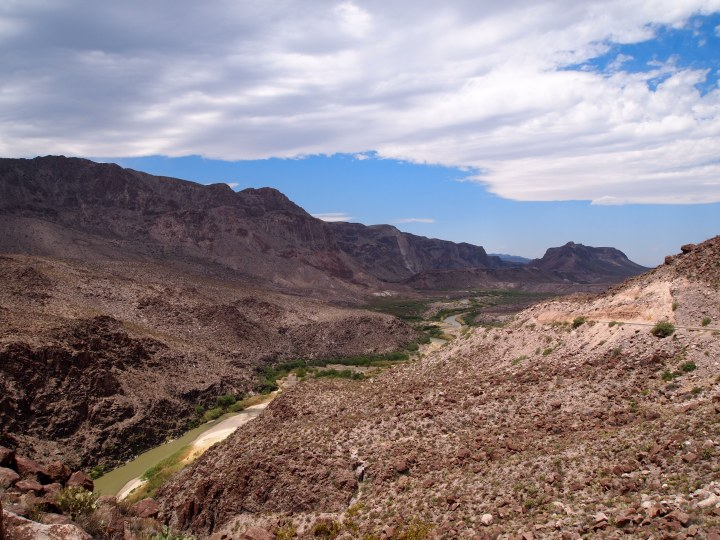 Overlook of the Rio Grande
