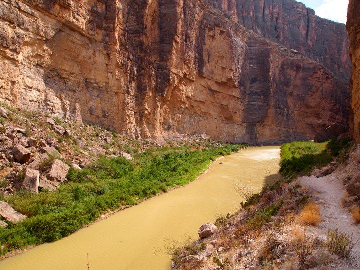 Caught some sun on the Rio Grande