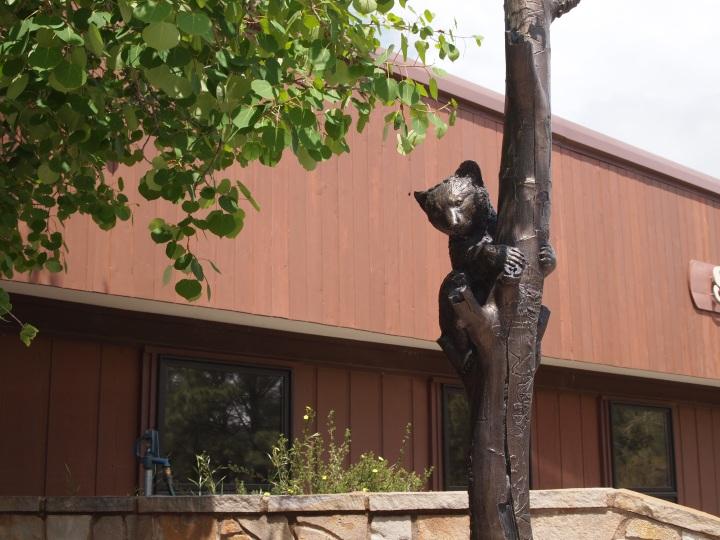 Statue of Smokey Bear