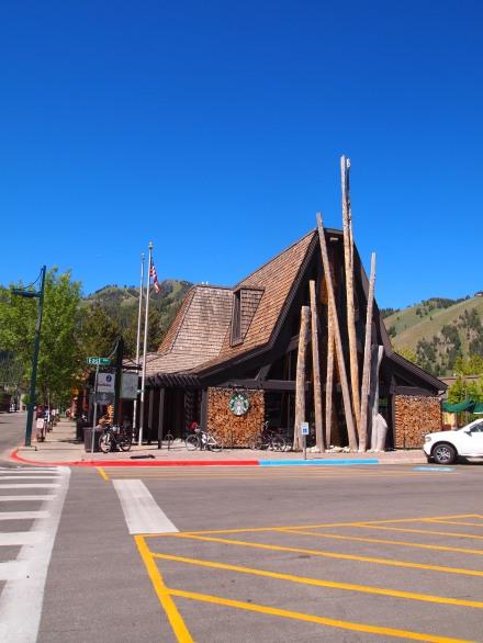 A church-like Starbucks