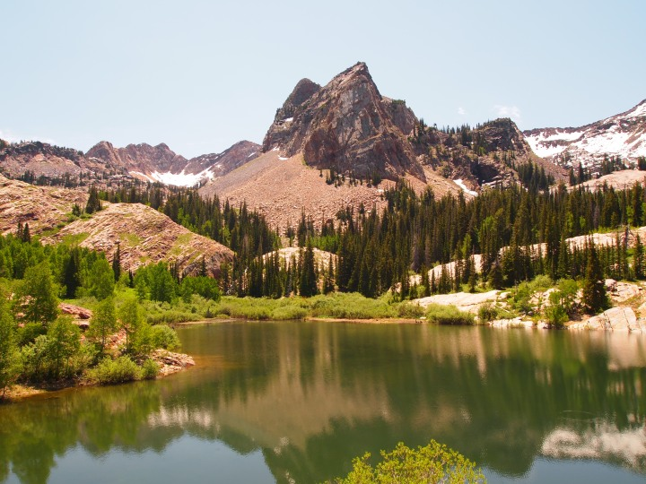 WHOA. Lake Blanche and Sundial Peak