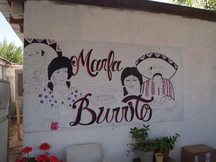 Marfa Burrito