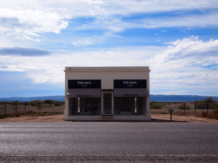 Prada Marfa - for some reason, the single greatest symbol of Marfa. Yet, it's 40 miles from town.