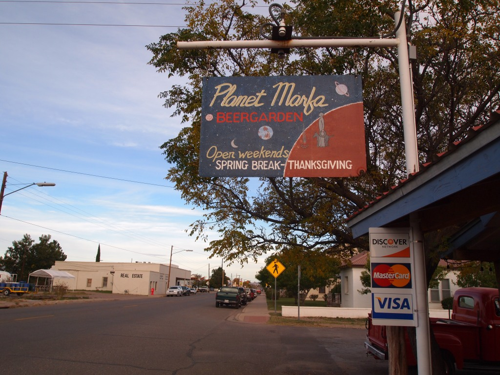 Our favorite haunt, Planet Marfa