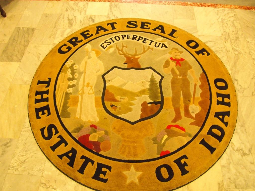 Idaho's badass state seal